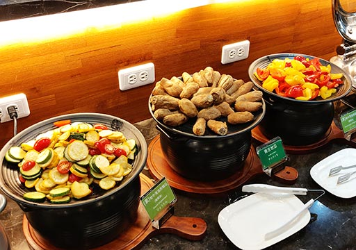 カインドネスホテル台南チーカンタワー 朝食