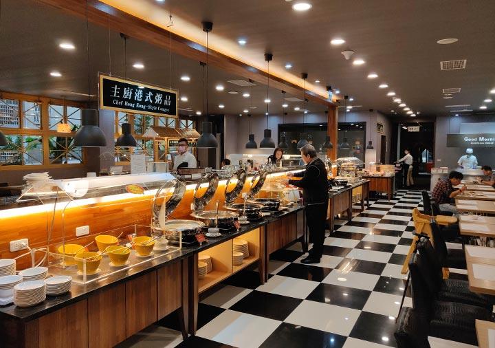 カインドネスホテル台南チーカンタワー 朝食ビュッフェ
