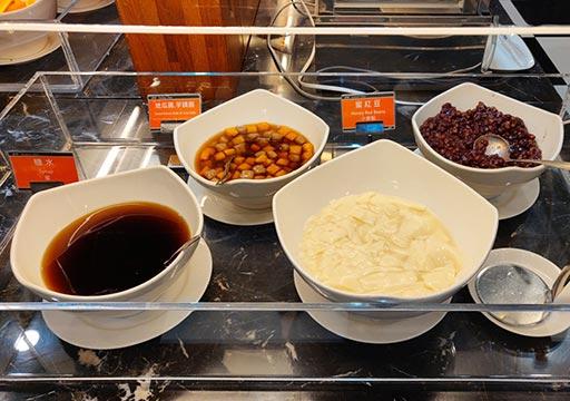 カインドネスホテル台南チーカンタワー 夜食の豆花