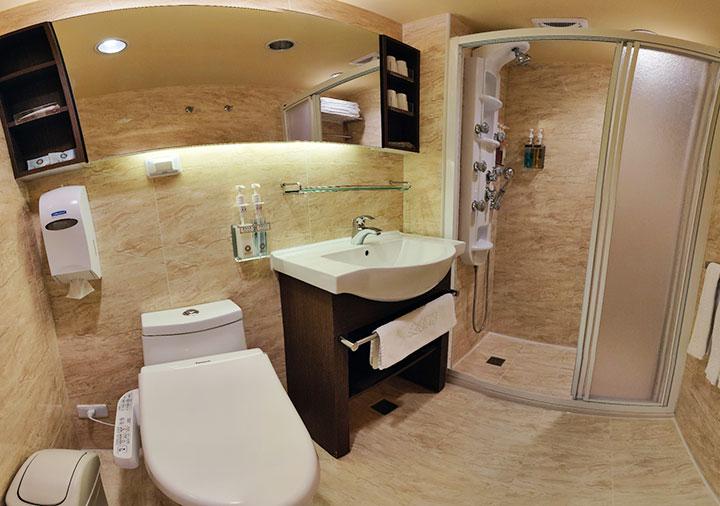 カインドネスホテル台南チーカンタワー 客室のバスルーム