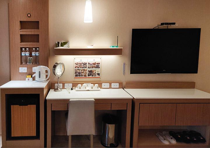 カインドネスホテル台南チーカンタワー 客室の設備類