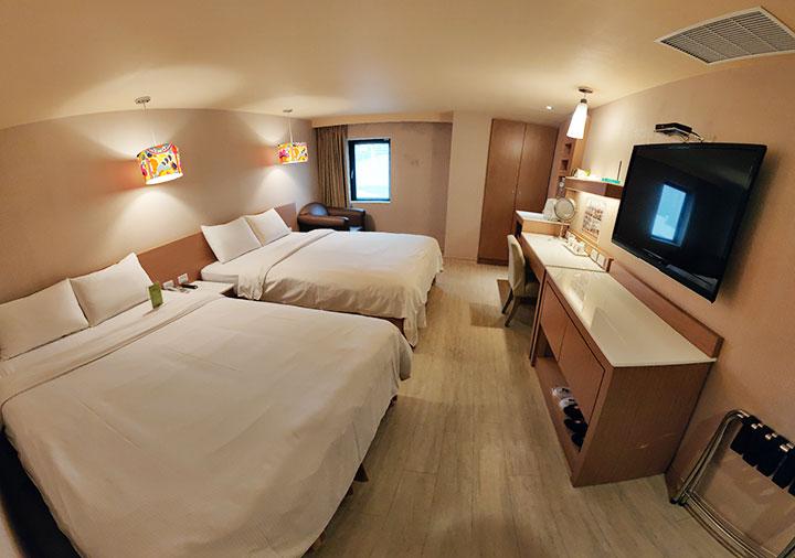 カインドネスホテル台南チーカンタワー 客室