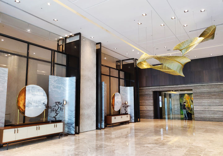 レイクショアホテル台南 エントランスホール