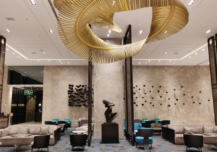 レイクショアホテル台南 ラウンジ