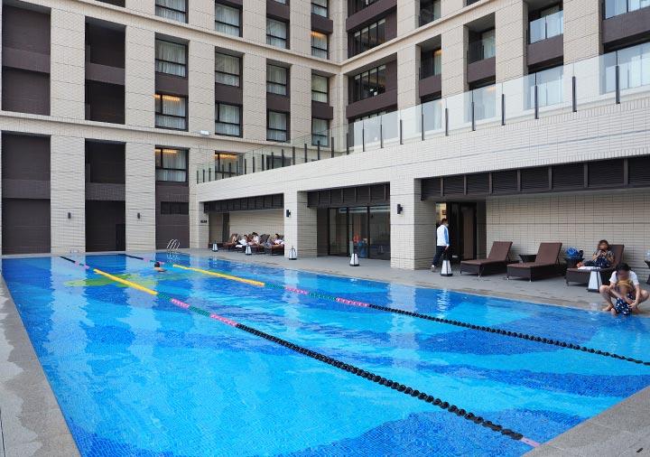 レイクショアホテル台南 プール