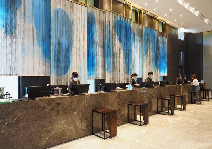 レイクショアホテル台南 レセプション