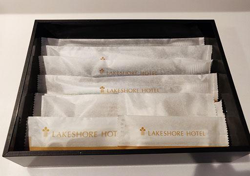 レイクショアホテル台南 客室のアメニティ