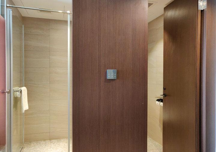 レイクショアホテル台南 客室のバスルーム