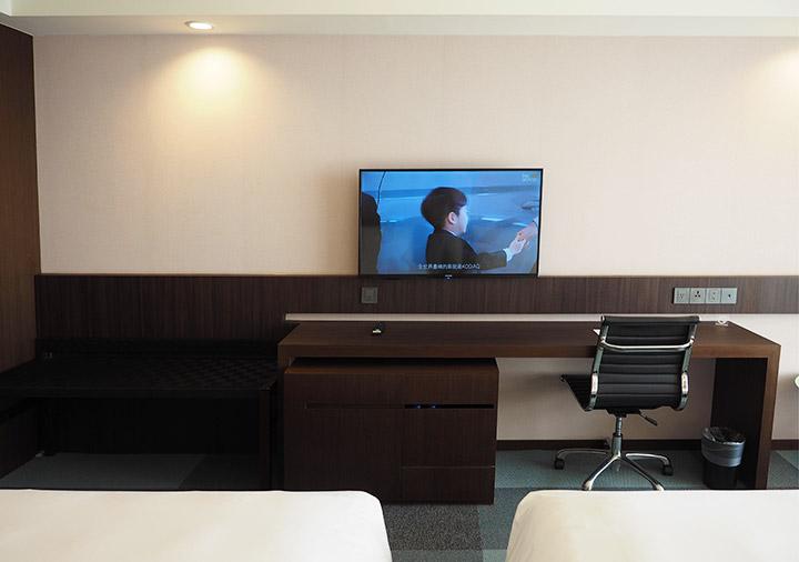 レイクショアホテル台南 客室のデスク