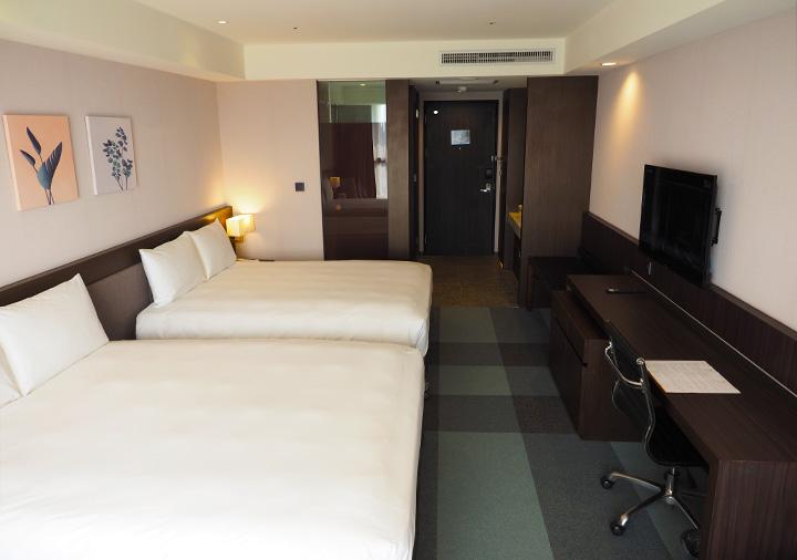 レイクショアホテル台南 客室