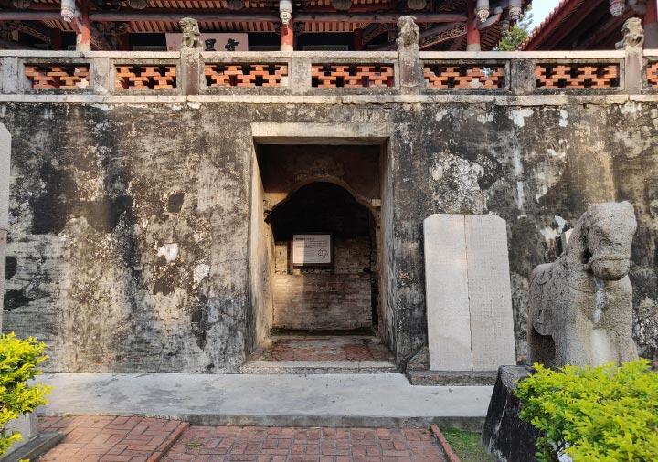 台南 赤崁楼 プロヴィンシア城の正門