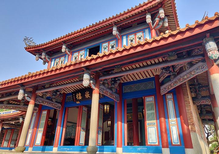 台南 赤崁楼の海神廟