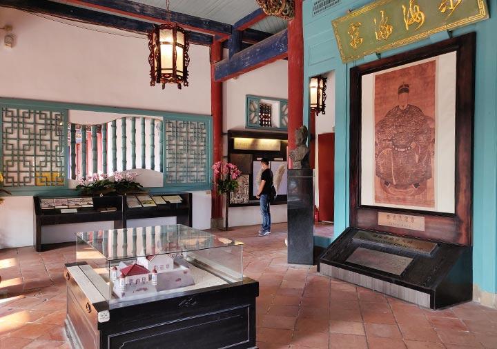 台南 赤崁楼の海神廟 内部