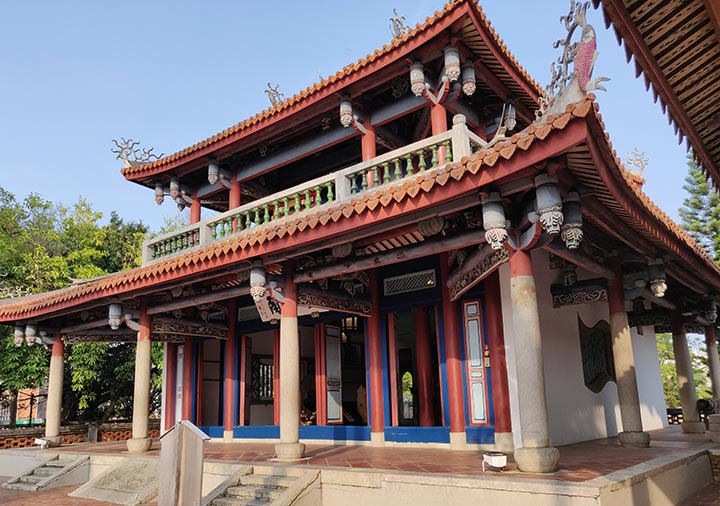 台南 赤崁楼の文昌閣