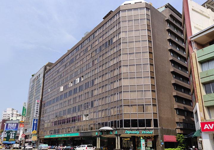 ダイナスティホテル 台南(台南新朝代飯店)