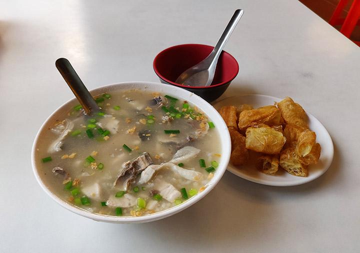 台南の阿堂鹹粥