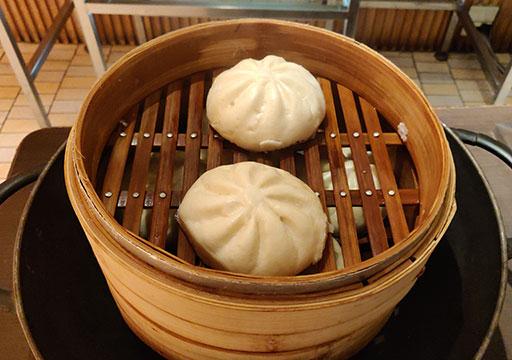 シャングリラ・ファーイースタンプラザホテル台南 朝食の点心