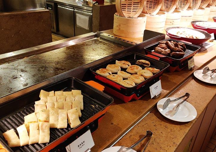 シャングリラ・ファーイースタンプラザホテル台南 台湾風の朝食