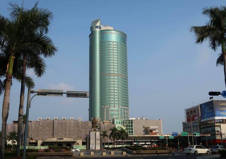 シャングリラ・ファーイースタンプラザホテル台南 建物