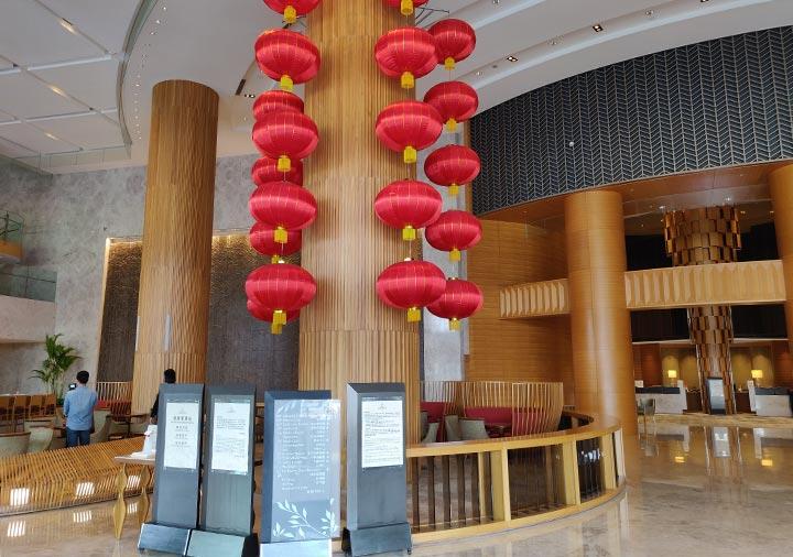 シャングリラ・ファーイースタンプラザホテル台南 エントランスホール