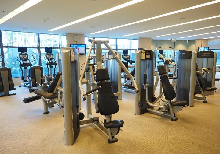 シャングリラ・ファーイースタンプラザホテル台南 フィットネスセンター