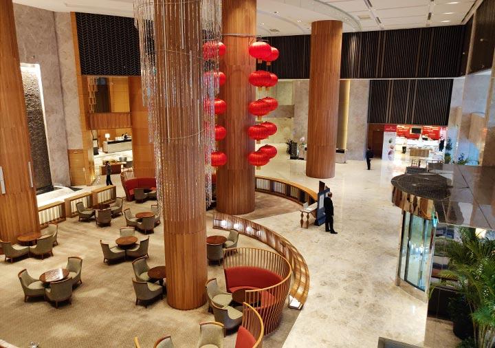 シャングリラ・ファーイースタンプラザホテル台南 1階の景色