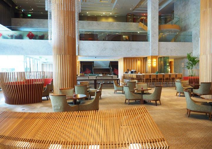シャングリラ・ファーイースタンプラザホテル台南 ラウンジ