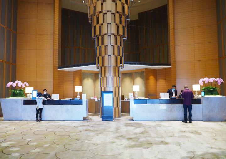 シャングリラ・ファーイースタンプラザホテル台南 レセプション