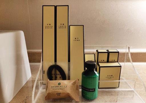 シャングリラ・ファーイースタンプラザホテル台南 客室のアメニティ