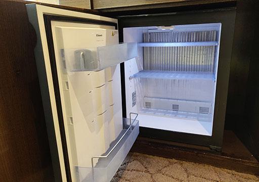 シャングリラ・ファーイースタンプラザホテル台南 客室の冷蔵庫