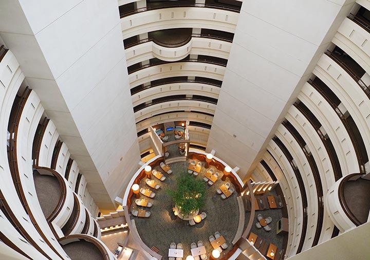 シャングリラ・ファーイースタンプラザホテル台南 建物の内部