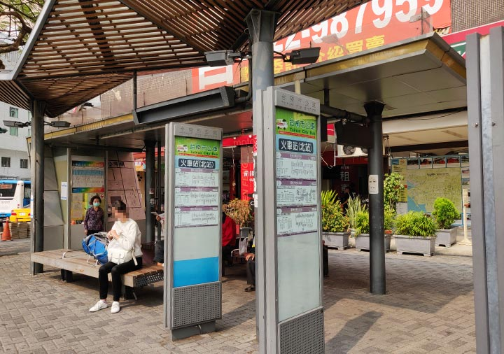 台南駅 北バスターミナル