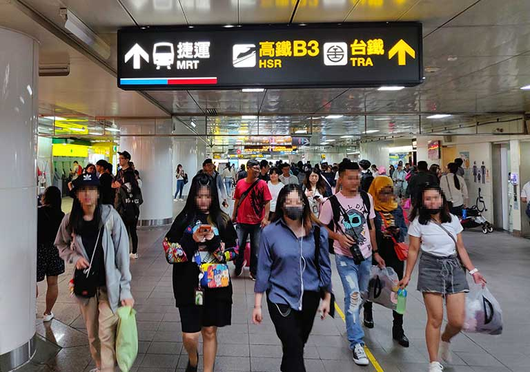 MRT台北駅