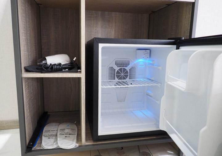 高雄 エアラインイン高雄ステーション 冷蔵庫