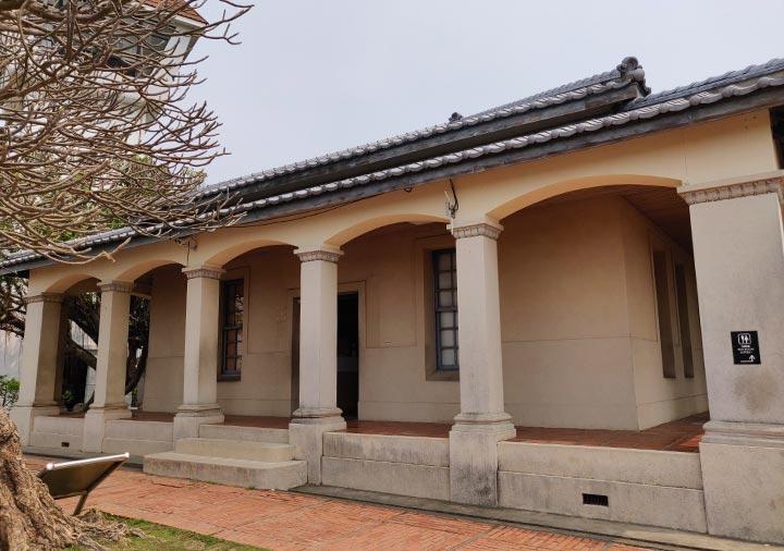台南 安平古堡の史跡記念館