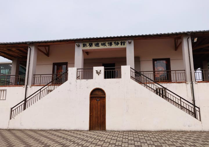 台南 安平古堡のゼーランディア城博物館