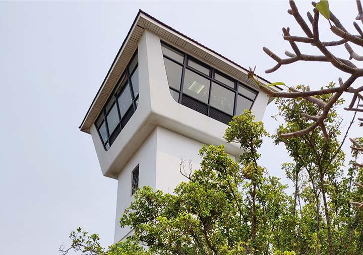 台南 安平古堡の展望台