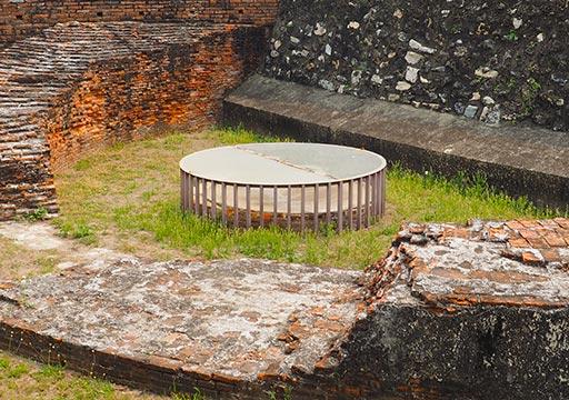 台南 安平古堡の古井戸