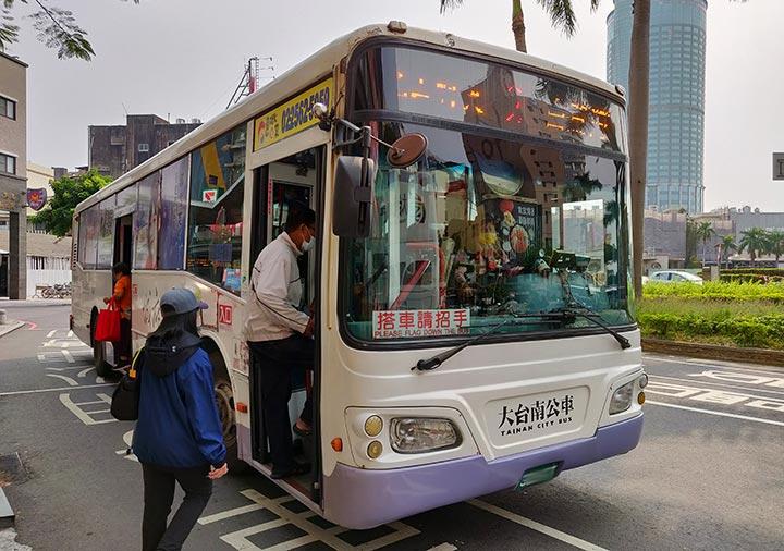 台南 2番バス
