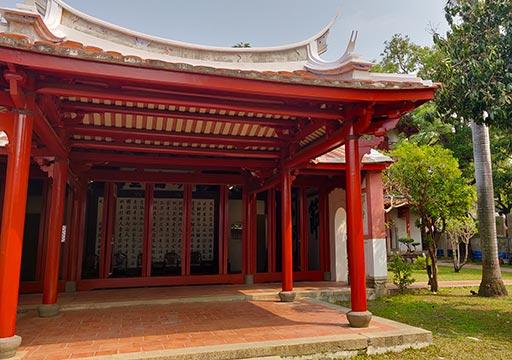 台南 孔子廟の明倫堂