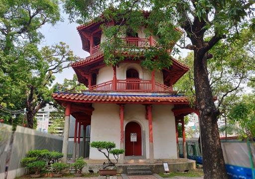 台南 孔子廟の文昌閣
