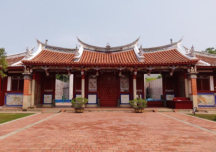 台南 孔子廟の大成門