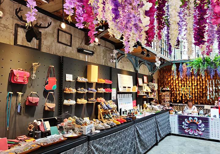 台南 手作革靴創意開發の店内
