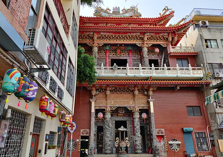 台南 薬王廟