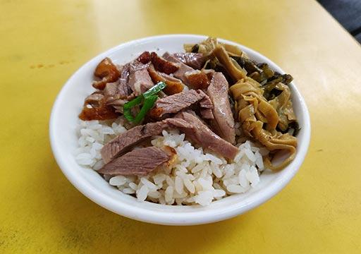 台南 亞德當歸鴨の鴨肉飯