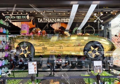 台南 正興街のショップ
