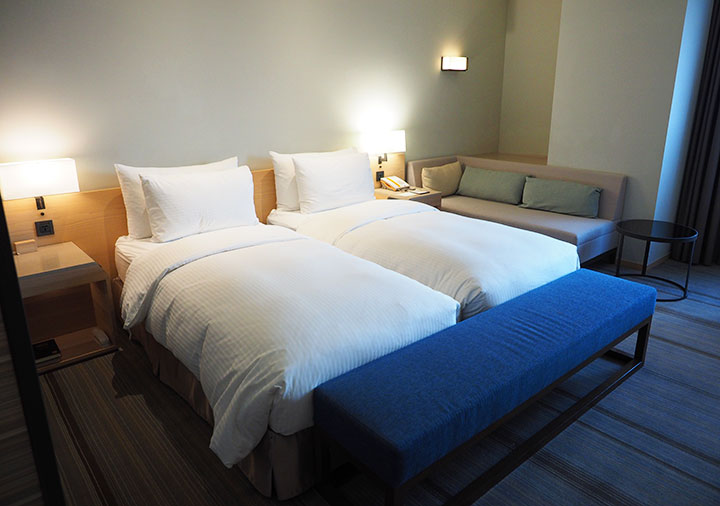 ホテルコッツィ高雄中山館 客室のベッド