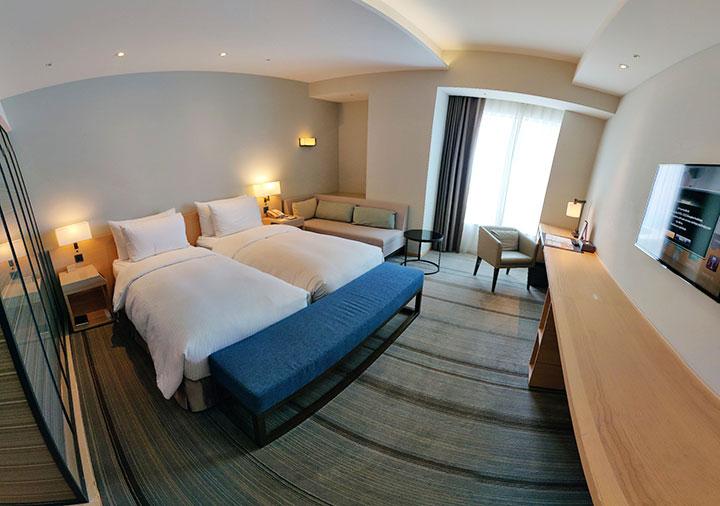 ホテルコッツィ高雄中山館 客室180度画像