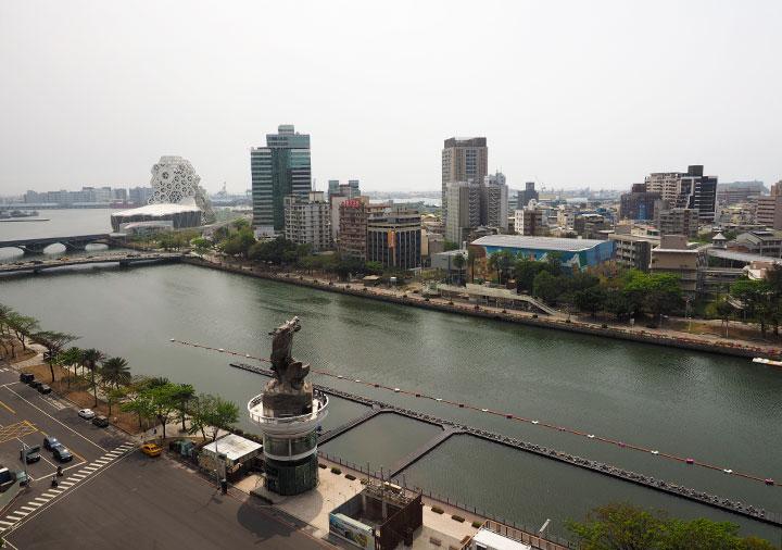 アンバサダーホテル高雄 客室からの景色