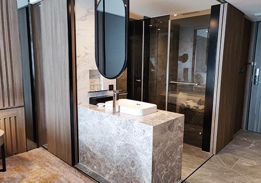 高雄 ハワードプラザホテル高雄 客室のバスルーム
